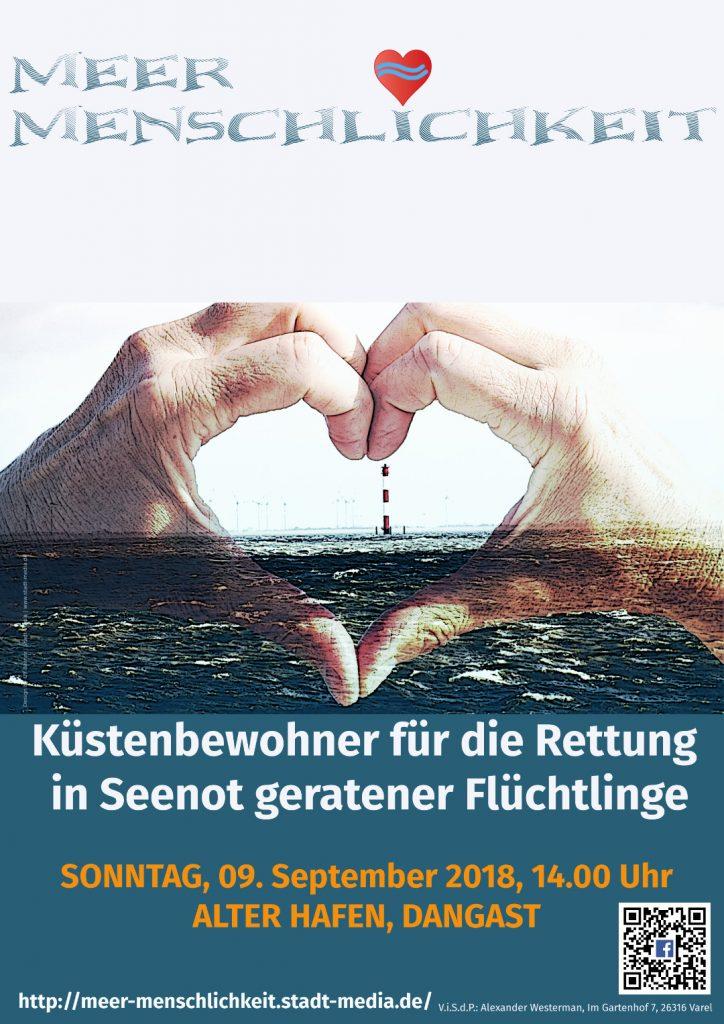Meer Menschlichkeit - Poster