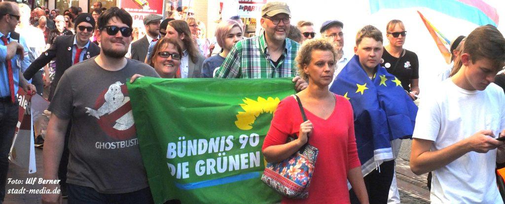 Marsch der Vielfalt - Demozug
