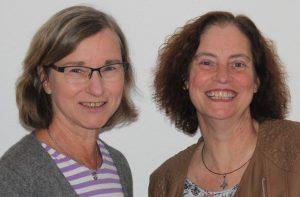 Doris Stehle und Kirsten getrost