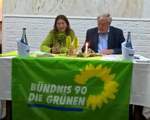 Kreisvorstand Wittmund: Gudrun Tobor und Dr. Arendt Hindriksen