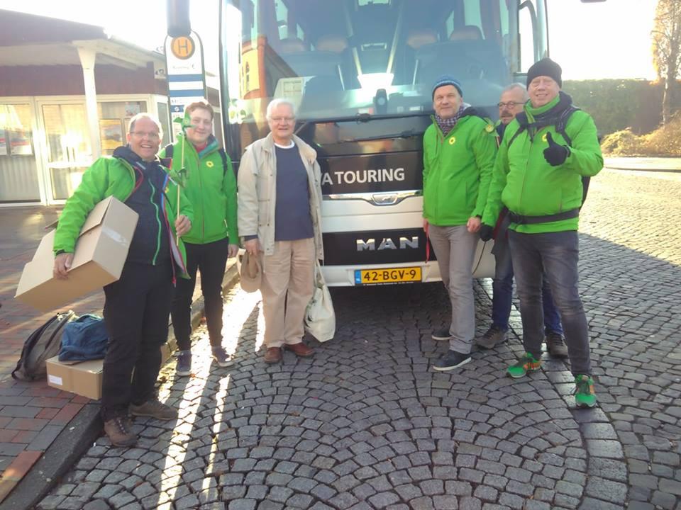 GRÜNE Ost-Friesen auf dem Weg nach Groningen