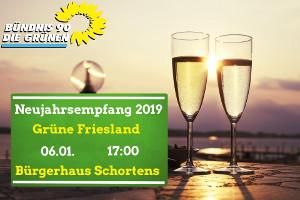 Neujahrsempfang der GRÜNEN Friesland