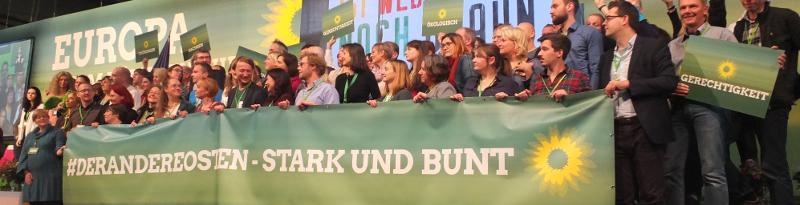 Ost-Begrünung auf der BDK 2018 in Leipzig | Foto: Ulf Berner