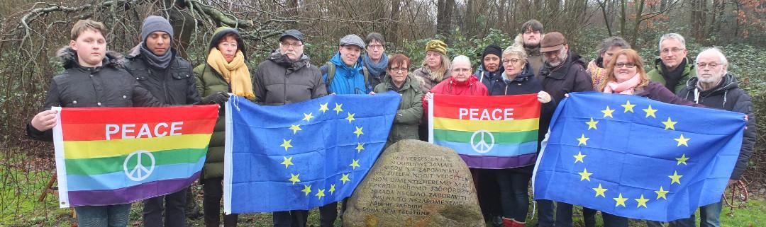 GRÜNE aus Friesland und Wilhelmshaven gedenken der Opfer des Holocaust