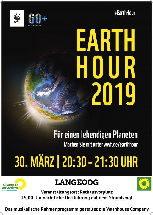 Earth Hour Plakat