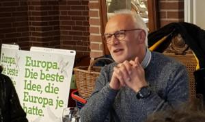 Europakorrepondent Detlef Drewes in Esens