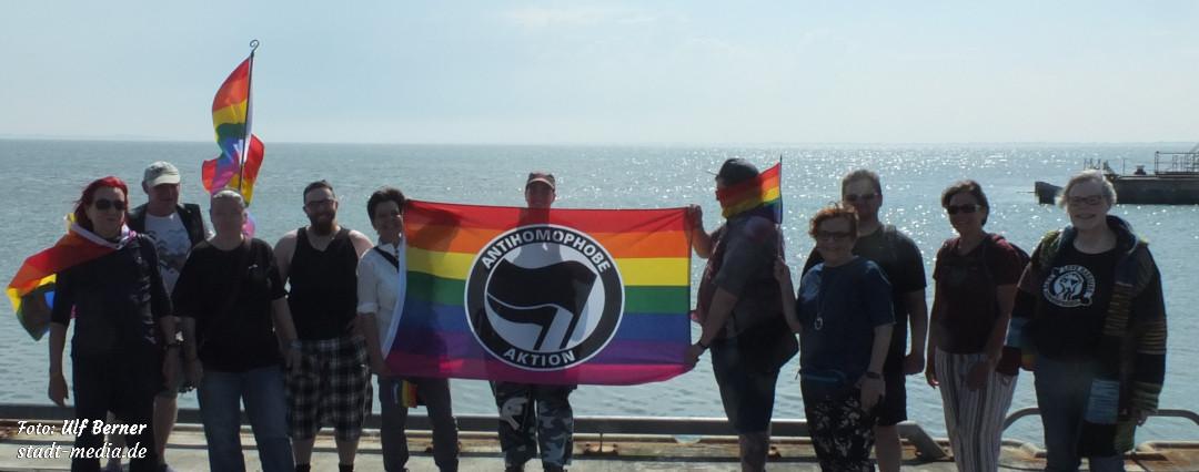 Spaziergang gegen Homo- und Transphobie
