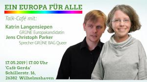 Queer-Talk zur Europawahl