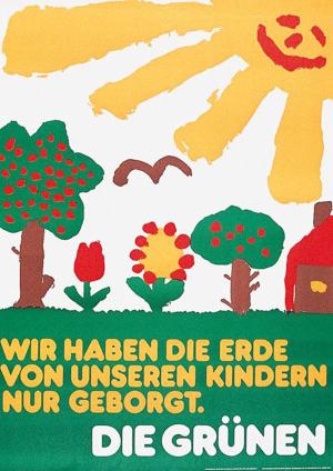 Wahlplakat 1979
