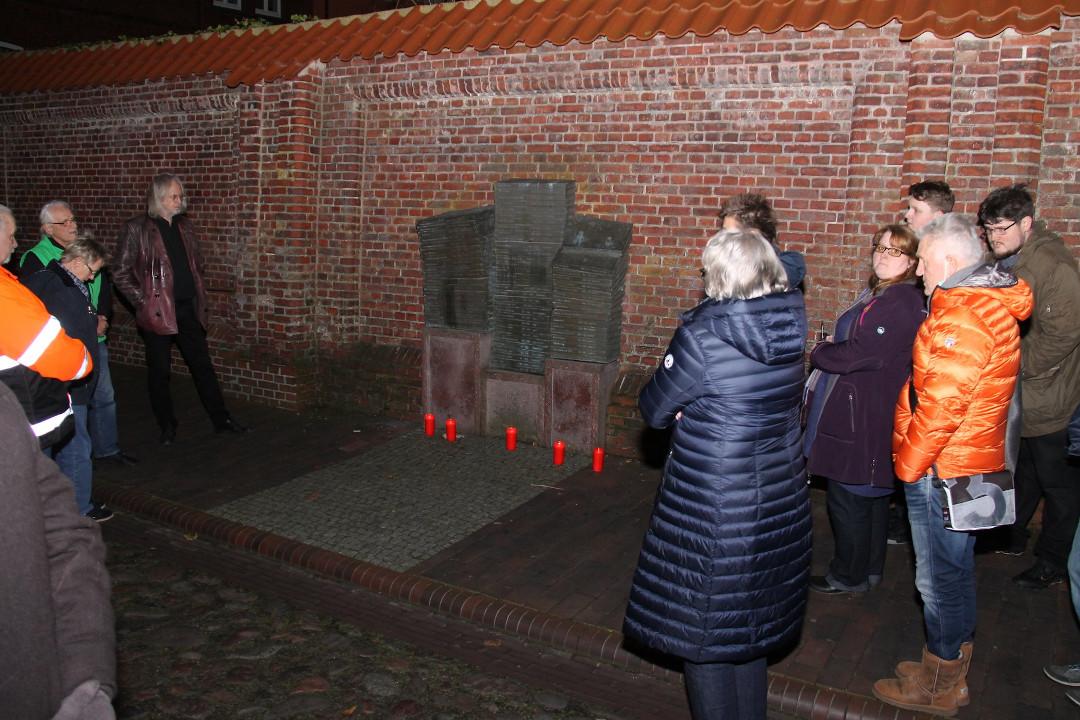 GRÜN gedenken den ermordeten Juden