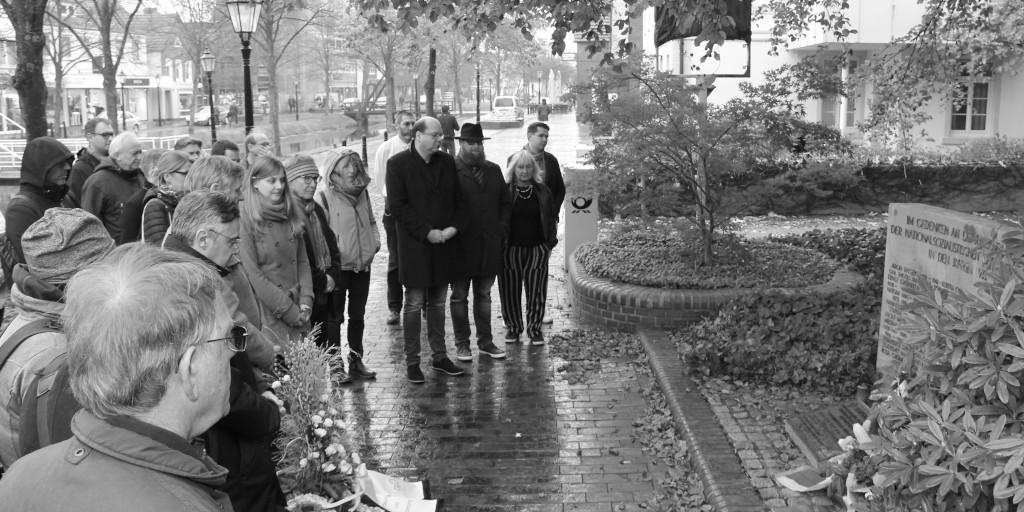 Gedenkveranstaltung in Papenburg