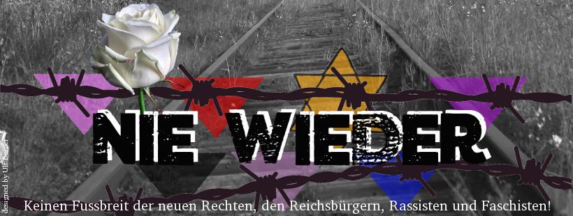 Gedenken an den Naziterror