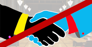No handshake with AfD