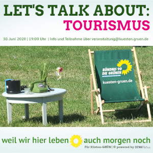 Let's Talk About: Tourismus (Webinar) @ ZOOM-Meeting