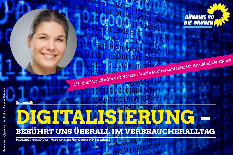 Digitalisierung berührt uns alle im Verbraucheralltag @ ZOOM Meeting