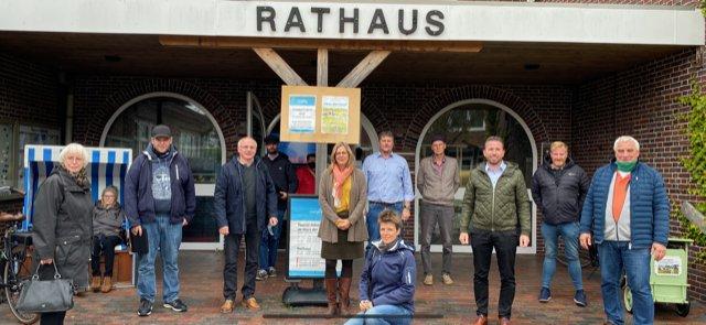 Infoveranstaltung zur Trassenquerung auf Langeoog