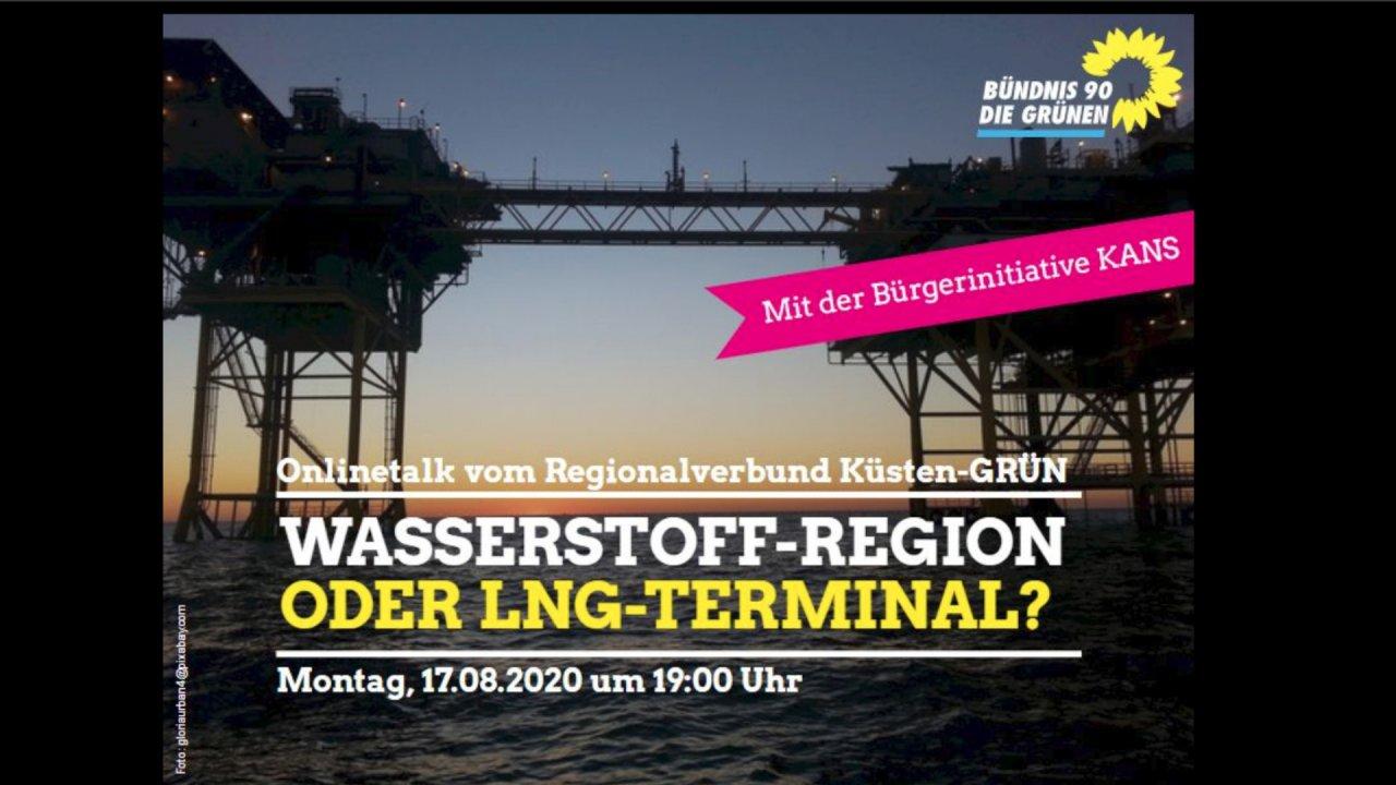 Online-Talk LNG vs. Wasserstoff
