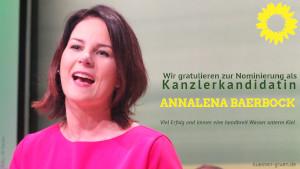 Annalena Baerbock, GRÜNE Kanzlerkandidatin