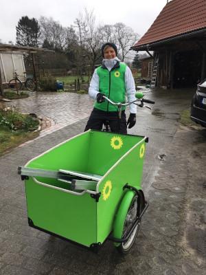 Sina Beckmann für Mobilitätswende