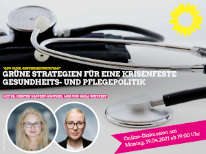 Online Diskussion Gesundheitspolitik mit Nadja Weippert