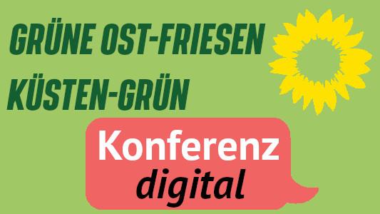 Konferenz GRÜNE Ost-Friesen + Küsten GRÜN
