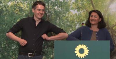 Filiz Polat und Sven-Christian Kindler